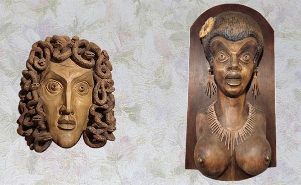 Медуза Горгона и Негритянка
