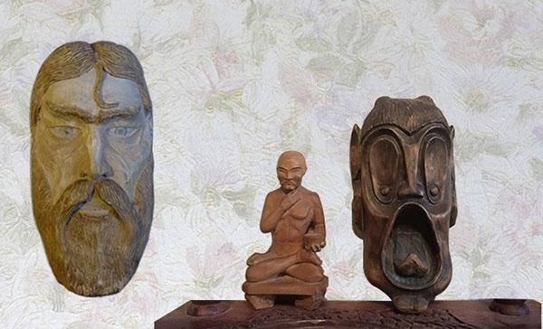 Русич, Будда и Бесенок